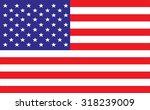united states america flag... | Shutterstock .eps vector #318239009