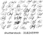collection of vector signatures ...