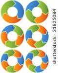 process charts menu | Shutterstock .eps vector #31825084