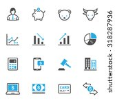 business and finance icons | Shutterstock .eps vector #318287936