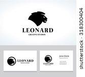 lion logo real estate logo king ... | Shutterstock .eps vector #318300404