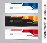 vector design banner... | Shutterstock .eps vector #318302018
