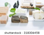 cosmetic clay  soaps  henna... | Shutterstock . vector #318306458
