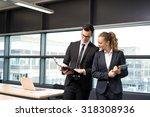 business people meeting  ... | Shutterstock . vector #318308936
