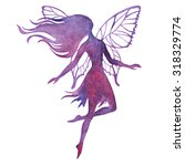 Hand Paint Fairy Watercolor...