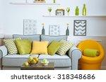 modern living room interior | Shutterstock . vector #318348686
