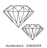 diamonds | Shutterstock .eps vector #31836259