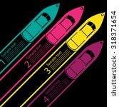 race boat infographics | Shutterstock .eps vector #318371654