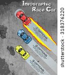 infographic race car tuning   Shutterstock .eps vector #318376220