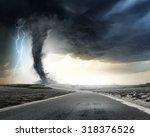 Black Tornado Funnel And...