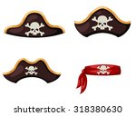 pirate hat vector | Shutterstock .eps vector #318380630