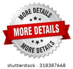 more details 3d silver badge... | Shutterstock .eps vector #318387668
