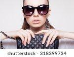 dress code of young...   Shutterstock . vector #318399734