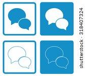 speech bubble icon . vector...