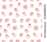 Present Seamless Pattern....