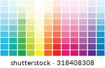 color palette . vector...