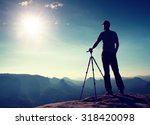 professional photographer stay  ... | Shutterstock . vector #318420098