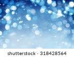 lights on blue background | Shutterstock . vector #318428564