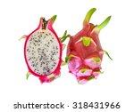 dragon fruit  hylocercus... | Shutterstock . vector #318431966