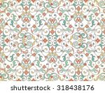 vector seamless pattern with... | Shutterstock .eps vector #318438176