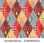Seamless Patchwork Pattern For...