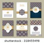banners set of etnic design. | Shutterstock .eps vector #318455498