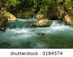 stream and waterfall hermon ... | Shutterstock . vector #3184574