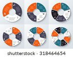 vector circle element for... | Shutterstock .eps vector #318464654