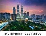 Kuala Lumpur Malaysia City Skyline - Fine Art prints