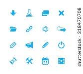 webdesign icons universal set... | Shutterstock . vector #318470708