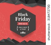 black friday deals label with... | Shutterstock .eps vector #318472730