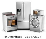 Home Appliances. Group Of...