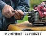 Repairing Lawn Mower Engine