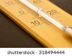 close up of a thermometer