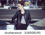 female beauty concept. portrait ... | Shutterstock . vector #318508190
