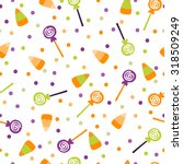 a vector illustration seamless... | Shutterstock .eps vector #318509249