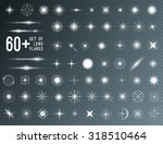 large set of realistic lens... | Shutterstock .eps vector #318510464