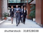 young business people team... | Shutterstock . vector #318528038