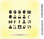 business man icons | Shutterstock .eps vector #318530480
