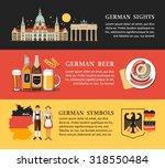 germany panorama scenery...   Shutterstock .eps vector #318550484