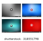 video player interface. online...