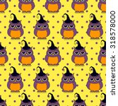 Seamless Halloween Pattern ...