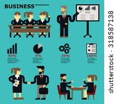 business infographics business... | Shutterstock .eps vector #318587138