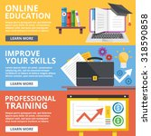 online education  skills... | Shutterstock .eps vector #318590858