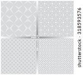 seamless pattern. set of four... | Shutterstock .eps vector #318593576