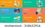 web   development | Shutterstock .eps vector #318622916