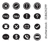 silhouette speech bubble icons  ...
