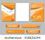 design cover paper report.... | Shutterstock .eps vector #318626294