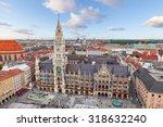 New Town Hall On Marienplatz...