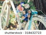 Wedding Bouquet Of Bride  ...
